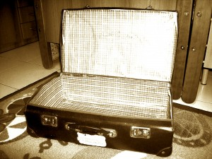 La valigia di cartone - foto di Silvia Castellani
