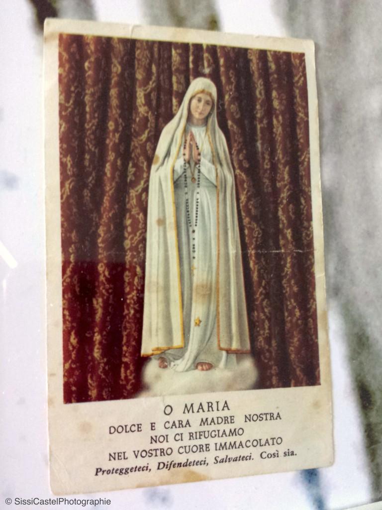 santino abbinato a rosa n.1