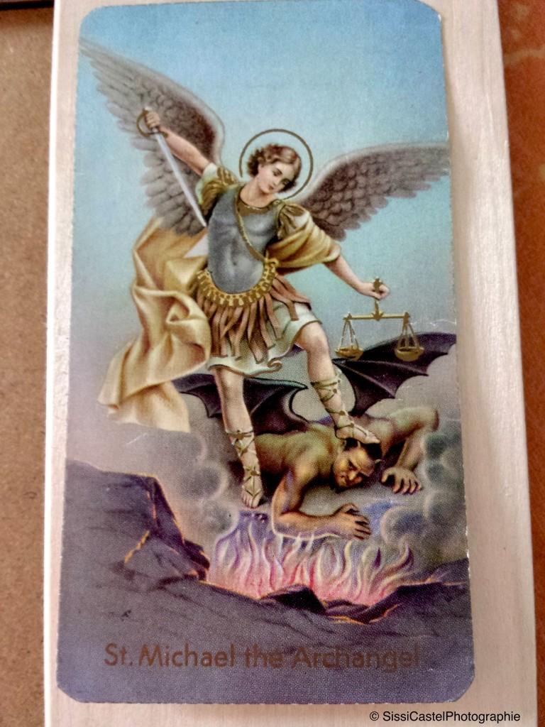 santino abbinato a rosa n.5