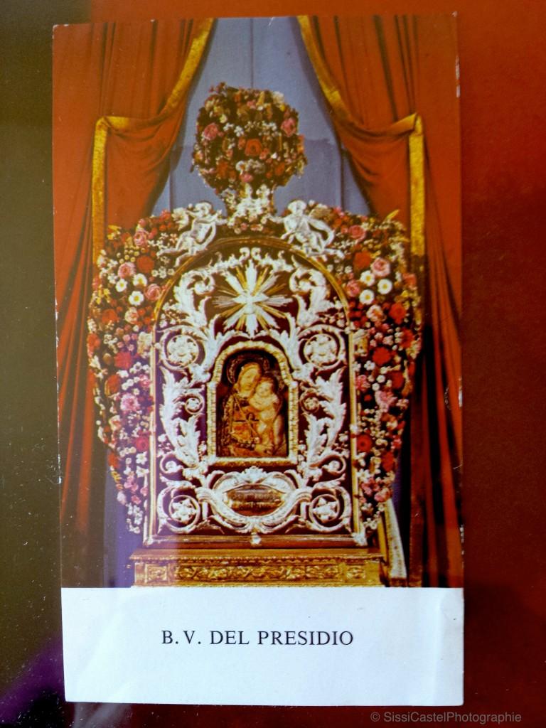 santino abbinato a rosa n.8