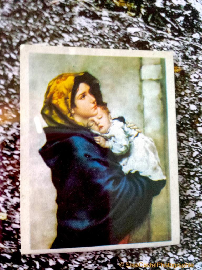 santino abbinato a rosa n.10